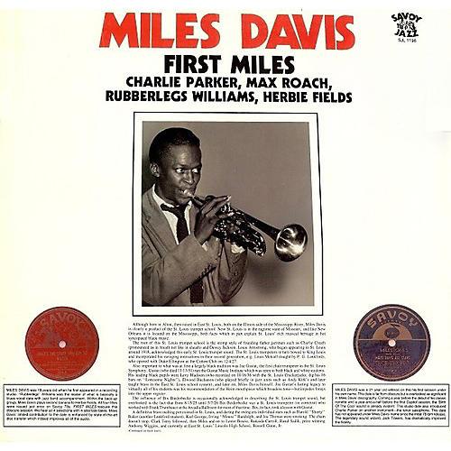 Alliance Miles Davis - First Miles