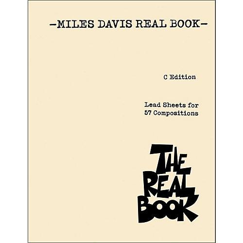 Hal Leonard Miles Davis Real Book