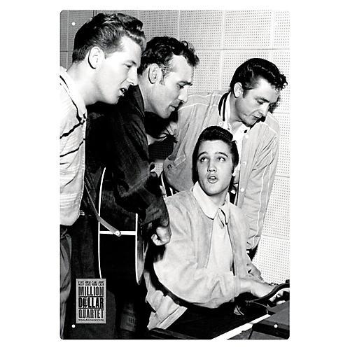 Hal Leonard Million Dollar Quartet - Tin Sign