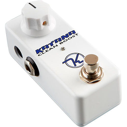 Keeley Mini Katana Clean Boost Guitar Effects Pedal