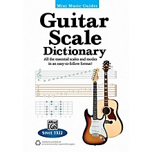 "Alfred Mini Music Guides: Guitar Scale Dictionary - 5"" x 7"" Book"