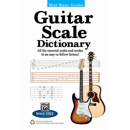 Alfred Mini Music Guides: Guitar Scale Dictionary - 5