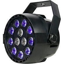Eliminator Lighting Mini Par UVW LED Black Light with Strobe