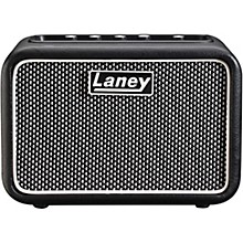 Laney Mini-St-SuperG 2x3W Stereo Battery-Powered Guitar Amp Level 1 Black and Silver