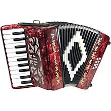 SofiaMari Mini Traveler Accordion - Red Pearl