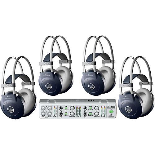 AKG MiniAMP/K77 Headphone Four Pack