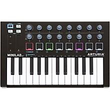 Arturia MiniLab Black Edition Keyboard Controller and Software Bundle Level 1
