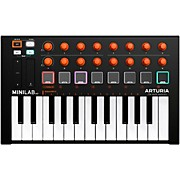 MiniLab MKII Mini Hybrid Keyboard Controller Orange Edition