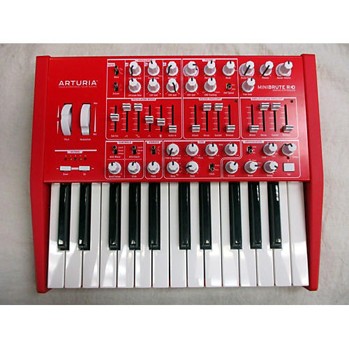 Arturia Minibrute Monophonic Red Synthesizer