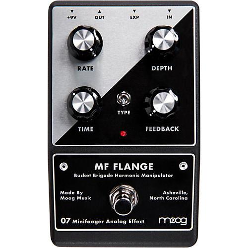 Moog Minifooger Flange Guitar Effects Pedal