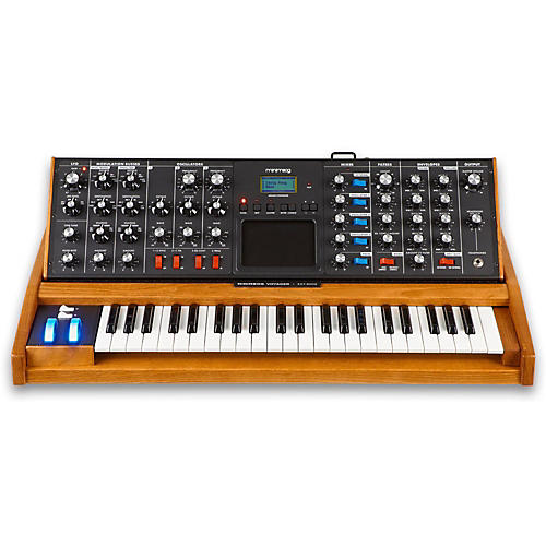 Moog Minimoog Voyager Performer Edition with Blue Wheel