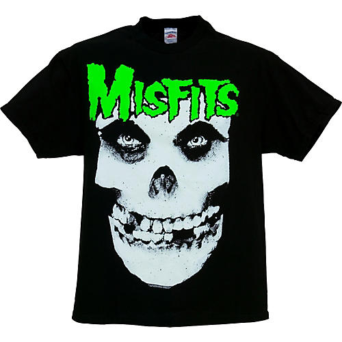 Gear One Misfits Glow In The Dark Jurek Skull T Shirt Guitar Center
