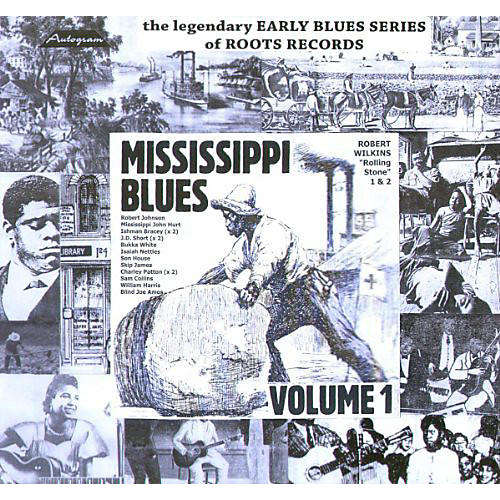 Alliance Mississippi Blues 1927-42 - Vol. 1-Mississippi Blues 1927-42