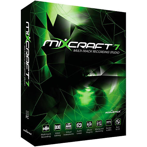 Acoustica Mixcraft 7 Software Download