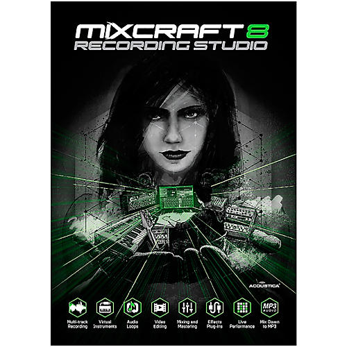 Acoustica Mixcraft 8 Recording Studio - Download