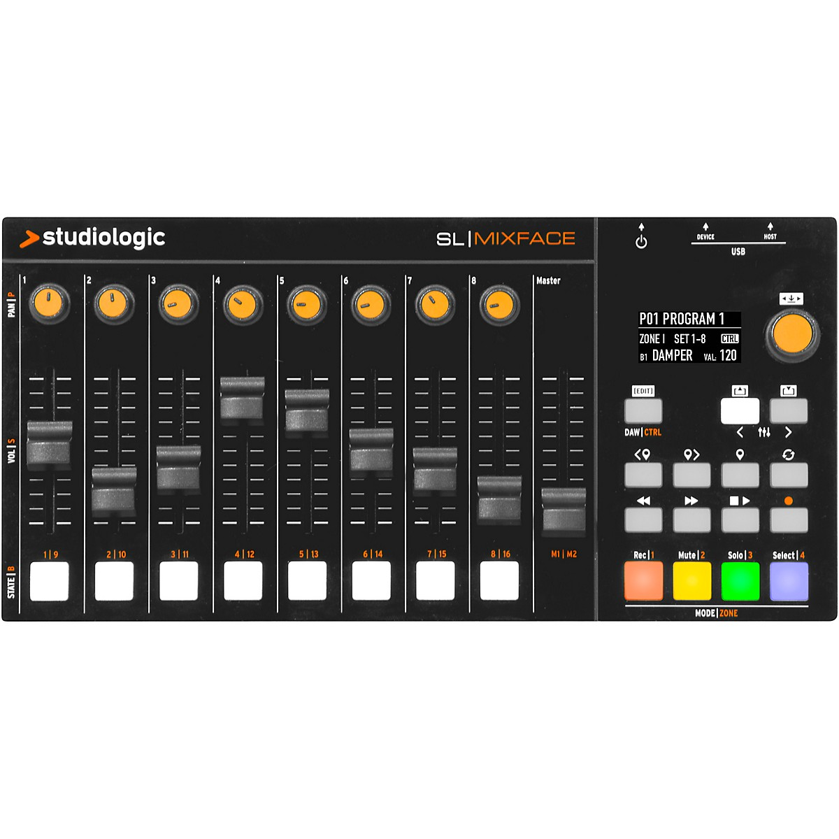 Studiologic Mixface MIDI Control Surface
