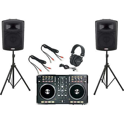 Numark Mixtrack Pro / Harbinger APS15 DJ Package