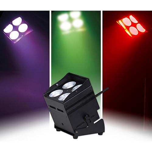 ColorKey MobilePar QUAD 4 2.4GHz W-DMX Wireless, Cordless RGBAW+UV LED PAR Wash Light