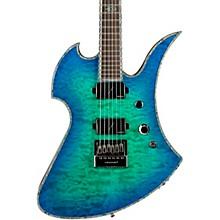 Mockingbird Extreme Exotic with Evertune Bridge Electric Guitar Cyan Blue