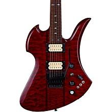 Mockingbird Neck Through with Floyd Rose and DiMarzios Electric Guitar Transparent Black Cherry