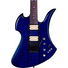 Mockingbird Neck Through with Floyd Rose and DiMarzios Electric Guitar Transparent Cobalt Blue
