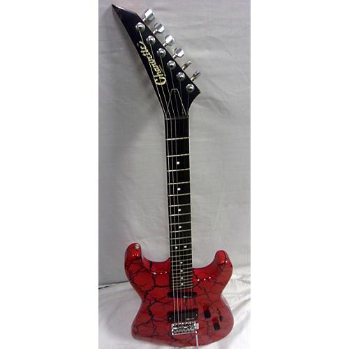 used charvette by charvel model 1 solid body electric guitar red crackle guitar center. Black Bedroom Furniture Sets. Home Design Ideas
