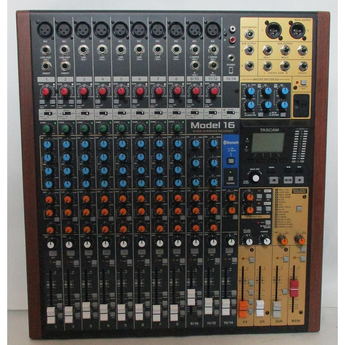 Tascam Model 16 Unpowered Mixer