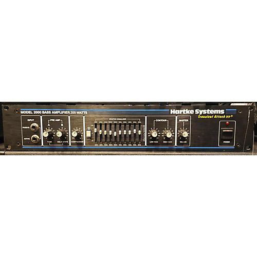 Hartke Model 2000 Bass Amp Head