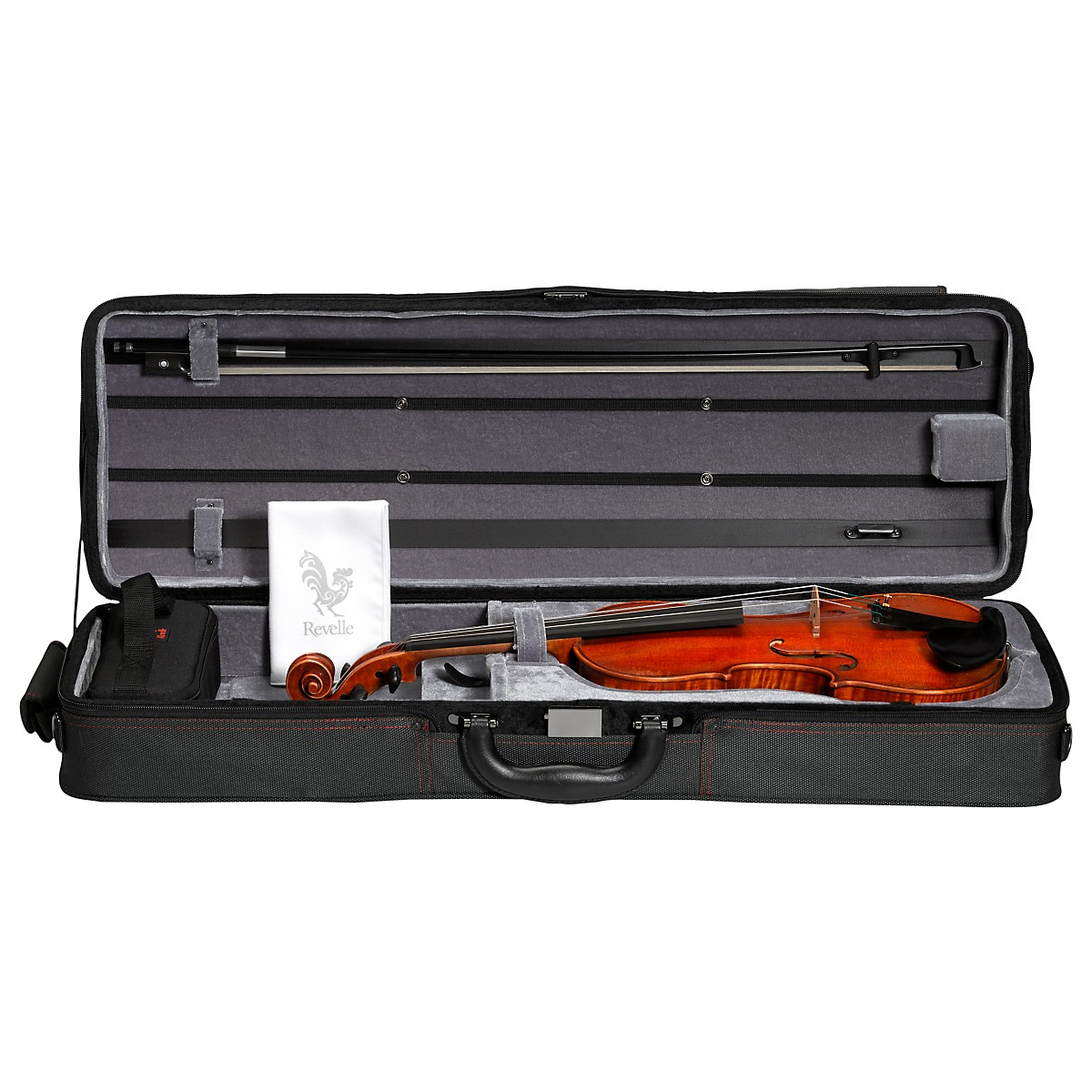 Revelle Model 500QXE Violin Outfit
