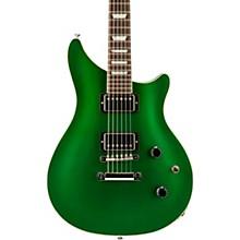 Modern Double Cut Standard Electric Guitar Metallic Green
