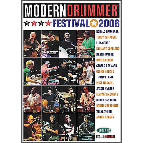 Hudson Music Modern Drummer Festival 2006 - Saturday/Sunday (4-DVD Package)