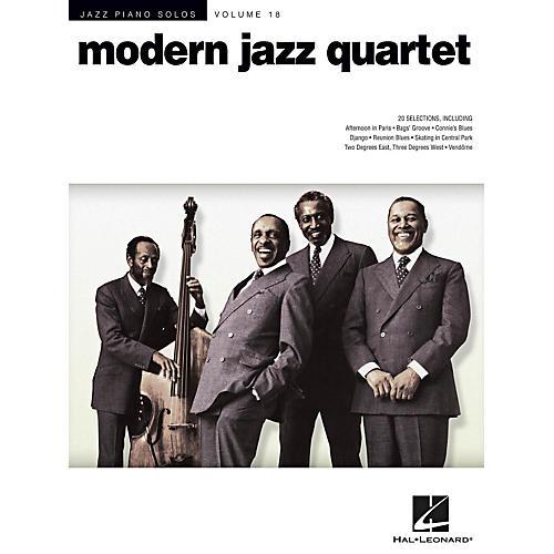Hal Leonard Modern Jazz Quartet - Jazz Piano Solos Series Volume 18