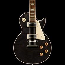 Modern Les Paul Standard Limited Edition Electric Guitar Translucent Black Aged Pearloid Pickguard