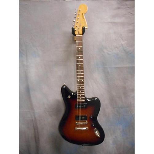 Fender Modern Player Jaguar Brown Sunburst Solid Body Electric Guitar