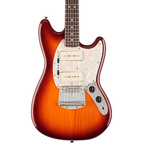 fender modern player mustang electric guitar honey burst rosewood fingerboard guitar center. Black Bedroom Furniture Sets. Home Design Ideas