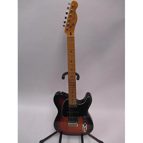 used fender modern player telecaster plus solid body electric guitar sunburst guitar center