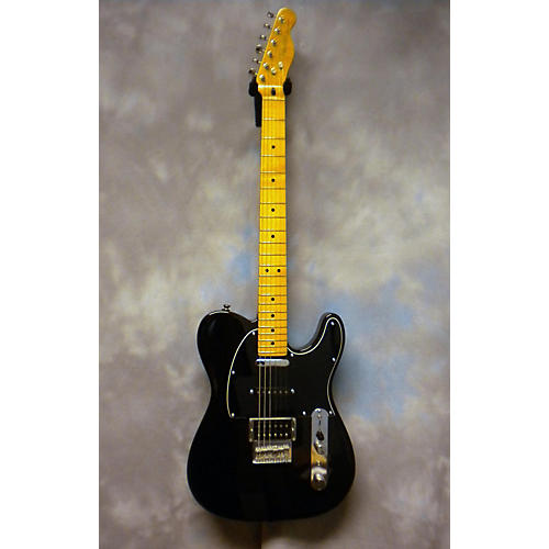 Fender Modern Player Telecaster Plus Trans Black Solid Body Electric Guitar