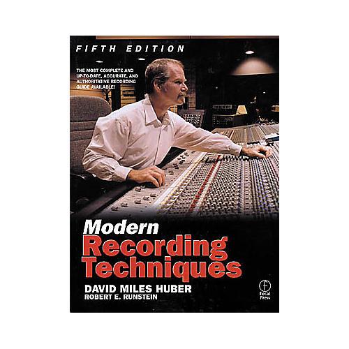Hal Leonard Modern Recording Techniques 5th Edition Book