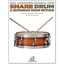 Hal Leonard Modern School For Snare Drum Book