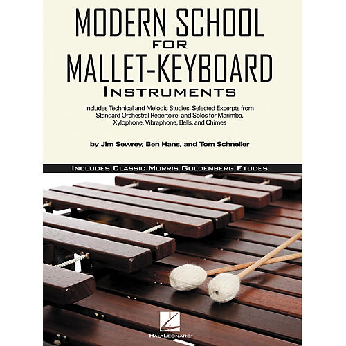 Hal Leonard Modern School for Mallet-Keyboard Instruments Book