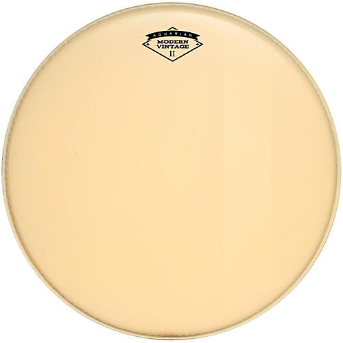 Aquarian Modern Vintage II Bass Drumhead with Felt Strip
