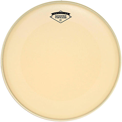 Aquarian Modern Vintage II Bass Drumhead with Super-Kick