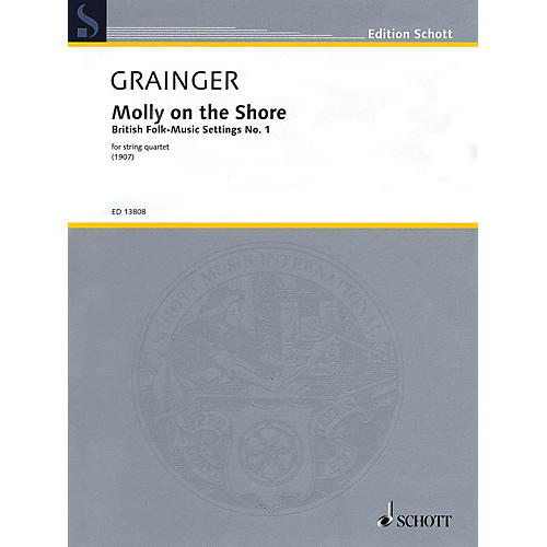 Schott Molly on the Shore String Series Softcover Composed by Percy Aldridge Grainger