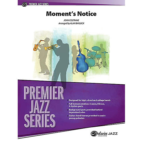 Alfred Moment's Notice Jazz Band Grade 4 Set