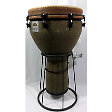 Remo Mondo Designer Series Key-Tuned Djembe Earth 27 X 16 In. Djembe