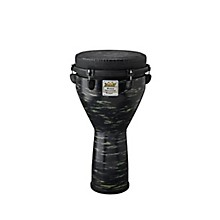 Remo Mondo Designer Series Key-Tuned Djembe Level 1 Evergreen 12x24