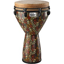 Mondo Designer Series Key-Tuned Djembe Multi-Mask 25 x 14 in.