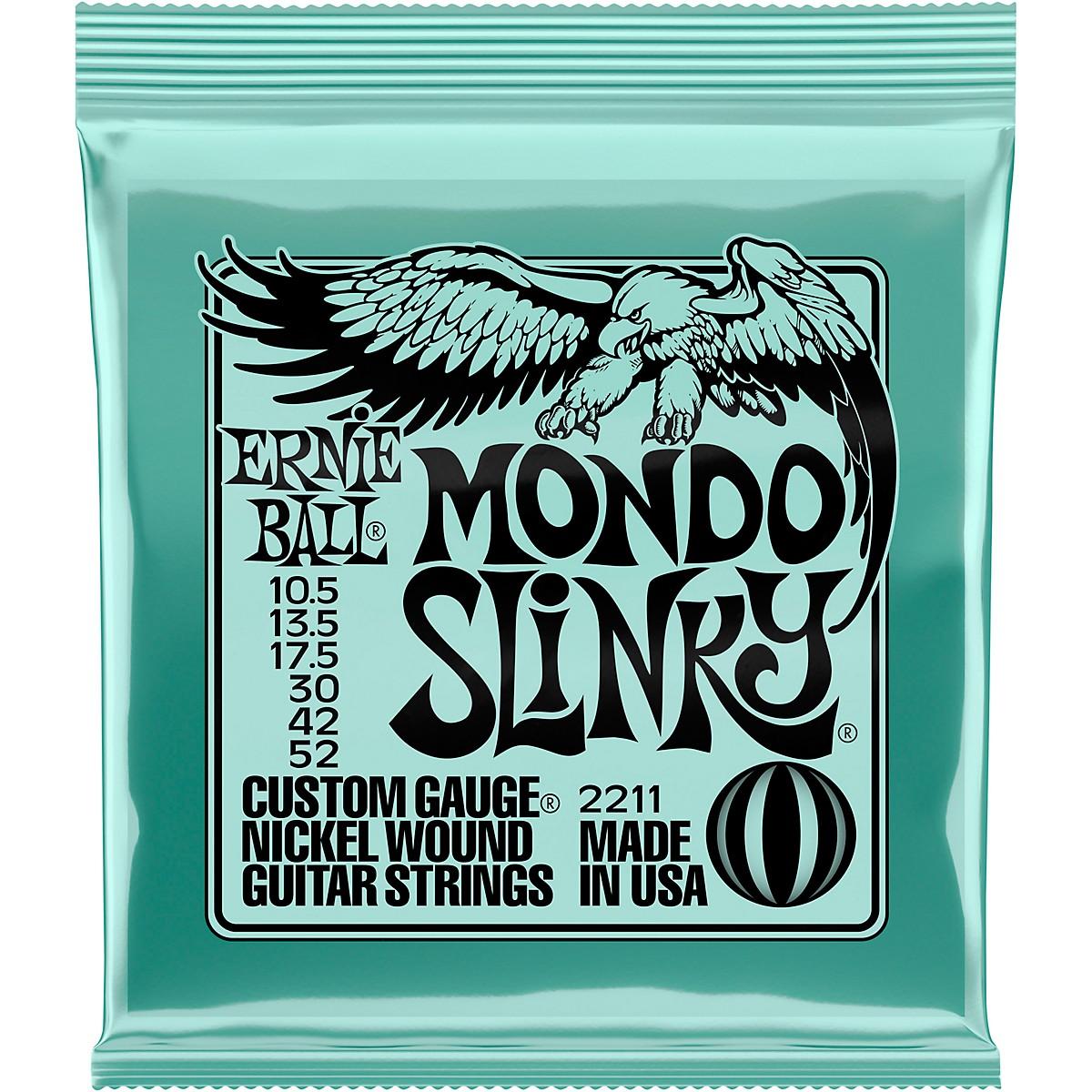 Ernie Ball Mondo Slinky 2211 (10.5-52) Nickel Wound Electric Guitar Strings