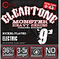 Cleartone Monster Black Series Super Light Electric Guitar Strings thumbnail