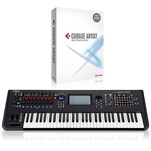 Yamaha Montage 61-Key Flagship Synthesizer With Cubase Artist